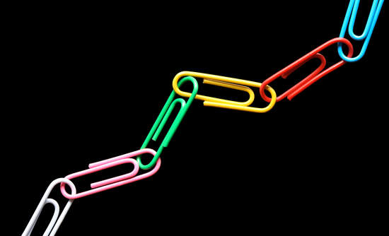 paper clip chain supply chain sustainability