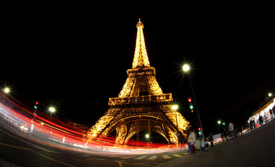 Eiffel Tower Paris climate change talks business government action