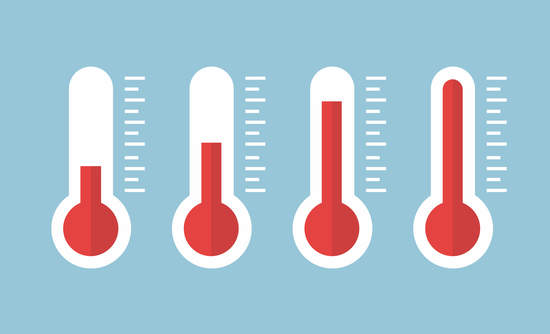 thermometers, climate change acceleration, COP21 united nations