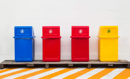 trash, waste management, utility business model disruption