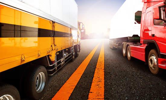 trucking logstics UPS emissions sustainability