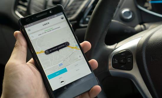 uber app transportation EVs