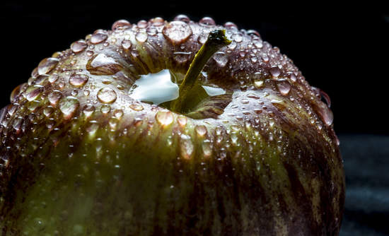 water droplets and water conservation