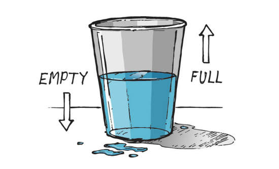 glass half empty water systems sustainability