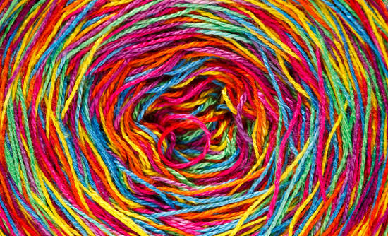 rainbow yarn unravelling circular economy investments