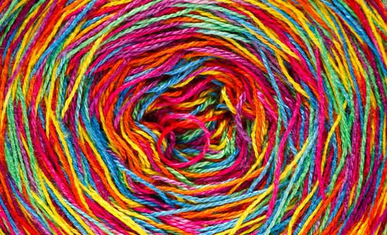 rainbow yarn unravelling circular economy investments