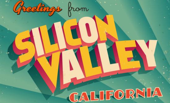 silicon valley postcard