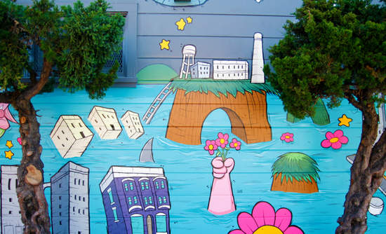 A San Francisco mural by Siron Norris.