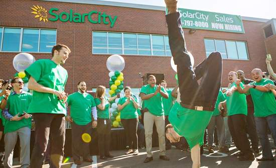 SolarCity energy storage commercial solar