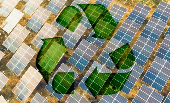 solar panels and recycling