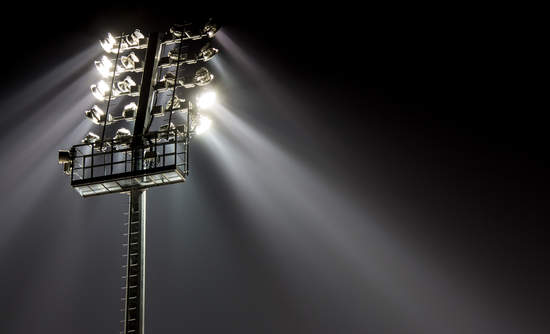 Sports stadiums switching to LED light