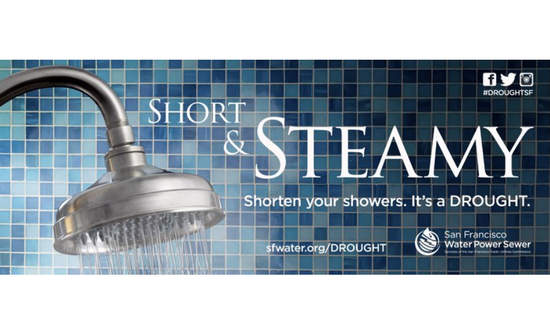 Short and Steamy San Francisco shower ad