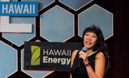 Steph Spiers, co-founder and CEO of Solstice Power, pitches her vision of a world in which solar energy is accessible to all, winning one of the VERGE Accelerate competitions at VERGE Hawaii in 2017.