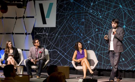 Strawberry Energy CEO Miloš Milisavljević makes his pitch at VERGE Accelerate