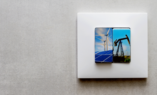 Light switch for clean energy