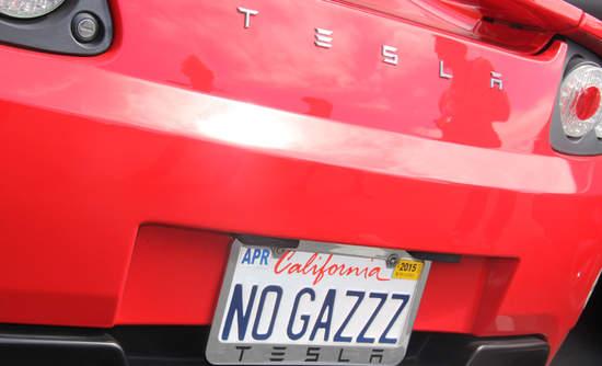 Tesla electric vehicle image by Amon Rappaport