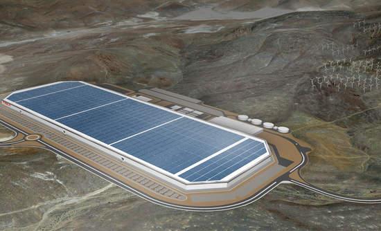 Tesla Motors Inc renewable energy battery Gigafactory