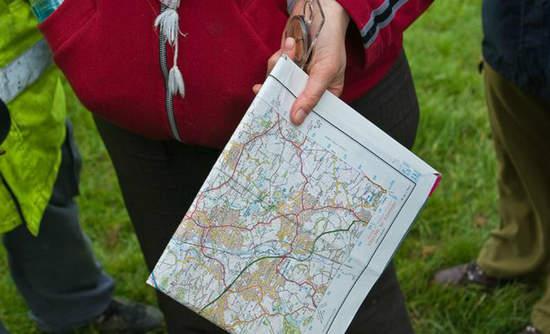 Open cast mine, Derbyshire, England