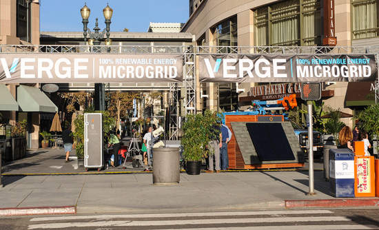 VERGE 100% Renewable Energy Microgrid