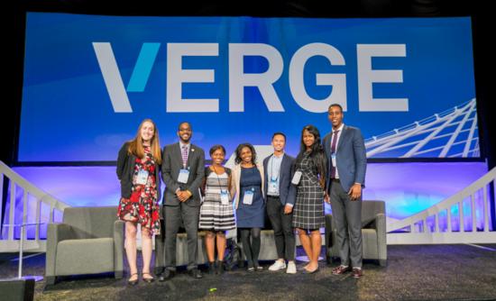 The Emerging Leaders at VERGE 18 onstage