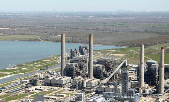 NRG's WA Parish power plant in Texas.