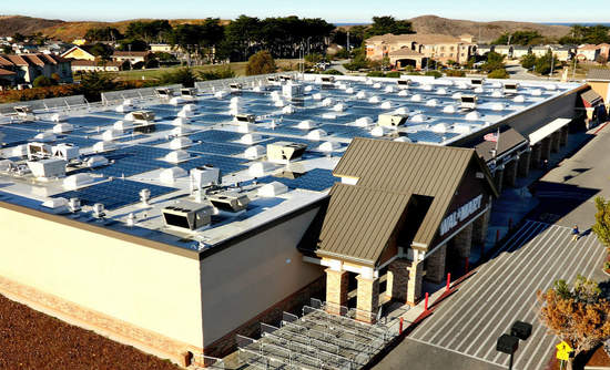 Arkansas-based Walmart supported a policy in the state to encourage solar developments.