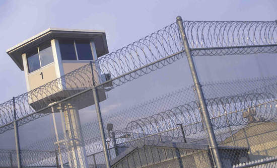 California prison watchtower