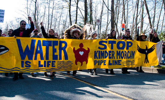 Kwekwecnewtxw Protect The Inlet March against the Trans Mountain Pipeline expansion