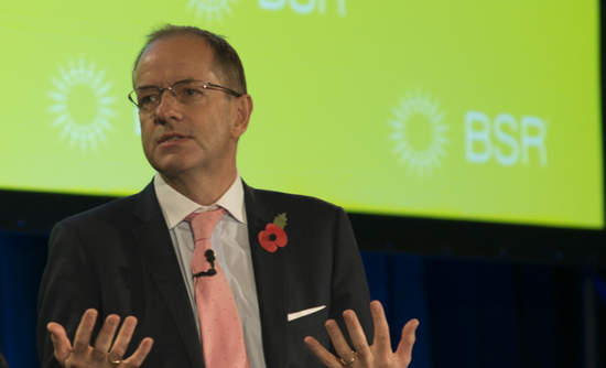 Andrew Witty speaking at BSR Conference 2014