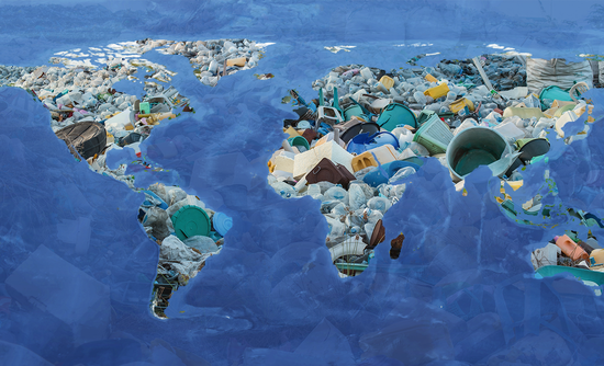 Plastic covering the world