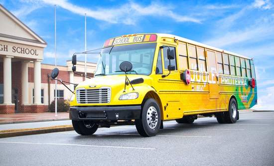 Proterra electric school bus