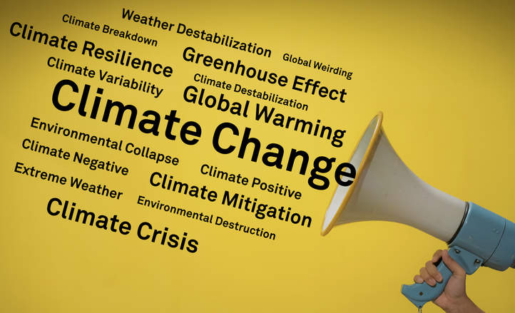 What s the (right) word on climate change?
