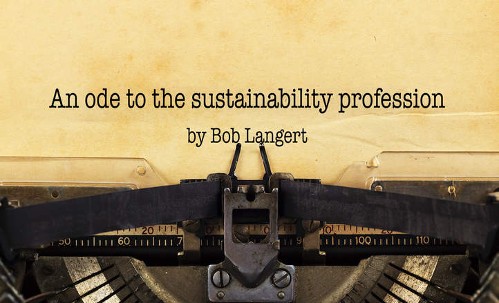 An ode to the sustainability profession