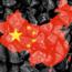 China map over coal