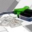 gas pump next to money