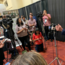 California Gov. Gavin Newsom talks to a press gaggle at VERGE 19 in October in Oakland.
