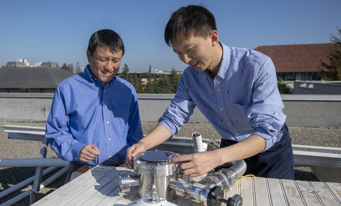 An air conditioner powered by outer space and help from the sun featured image