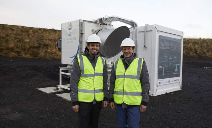 This testbed in Iceland sucks carbon dioxide out of the air featured image