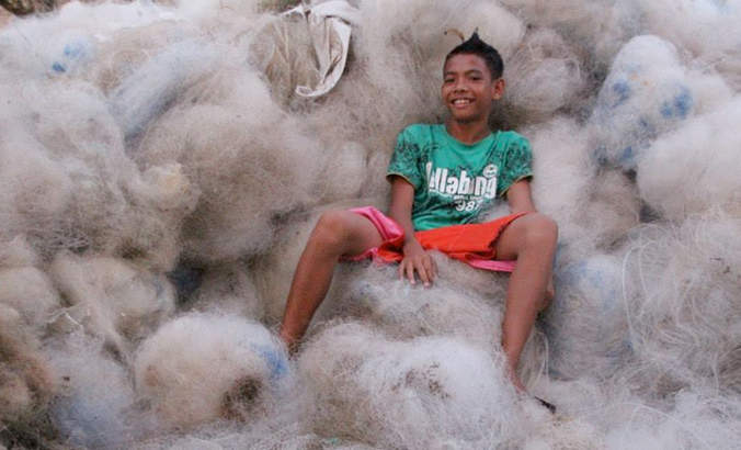 Interface's Net-Works program brings fish net recycling to Africa featured image