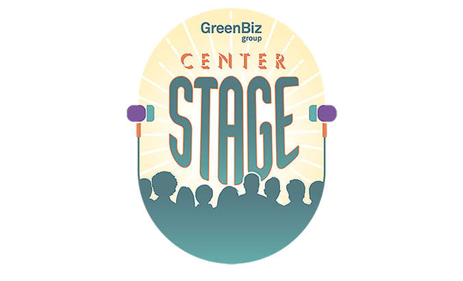 center stage podcast logo