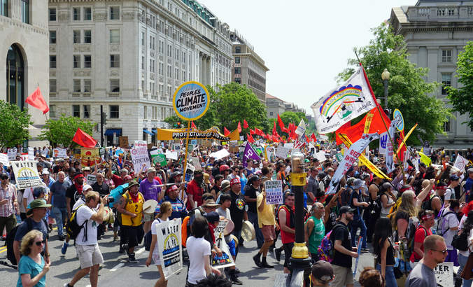 Marching for climate, justice, jobs and action featured image