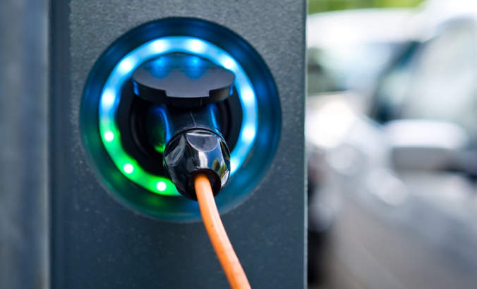 Socket for an electric car charger