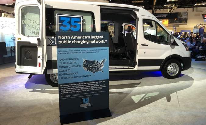 Ford electric Transit van