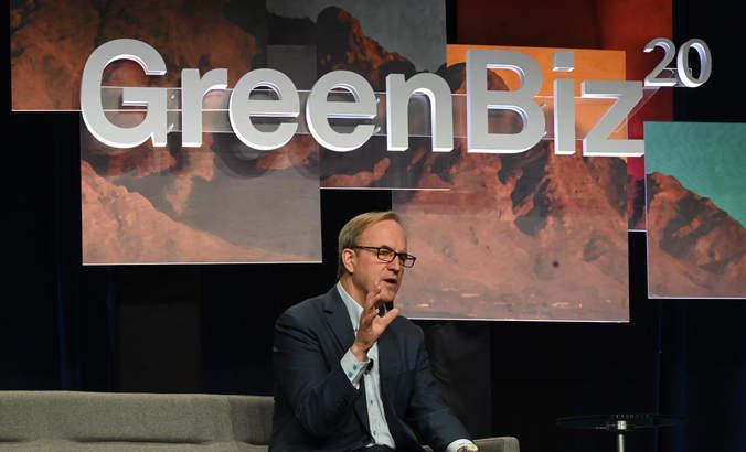 Doug Baker, Ecolab, GreenBiz 20
