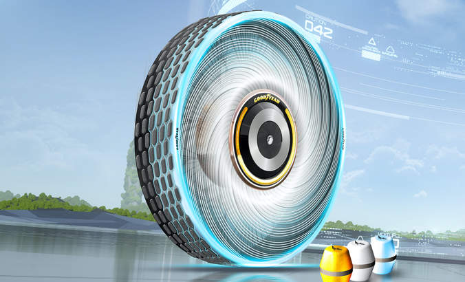 Goodyear, reCharge concept tire