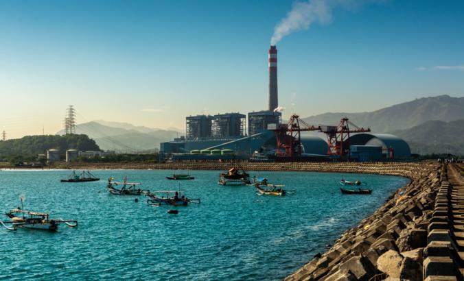 Indonesian coal plant