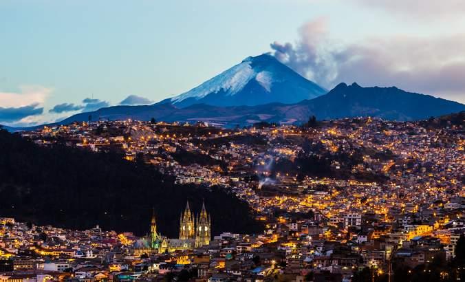Quito, Ecuador skyline
