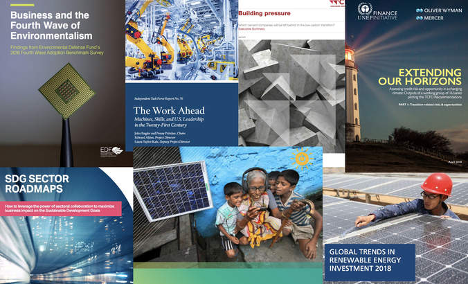 Report Report: Carbon accounting, SDG roadmaps, 4th wave environmentalism featured image