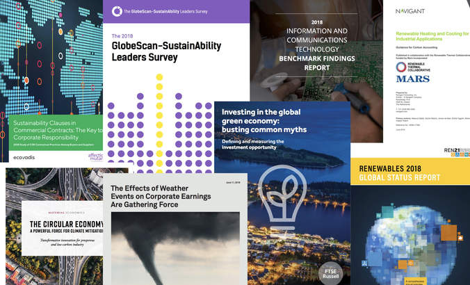 Report Report: Circular, leaders, weather and renewables featured image