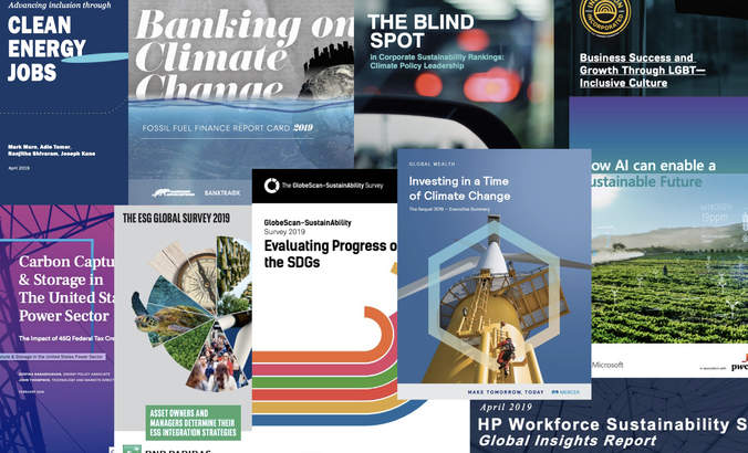Report Report: Banking, blind spots, carbon capture and climate risk featured image